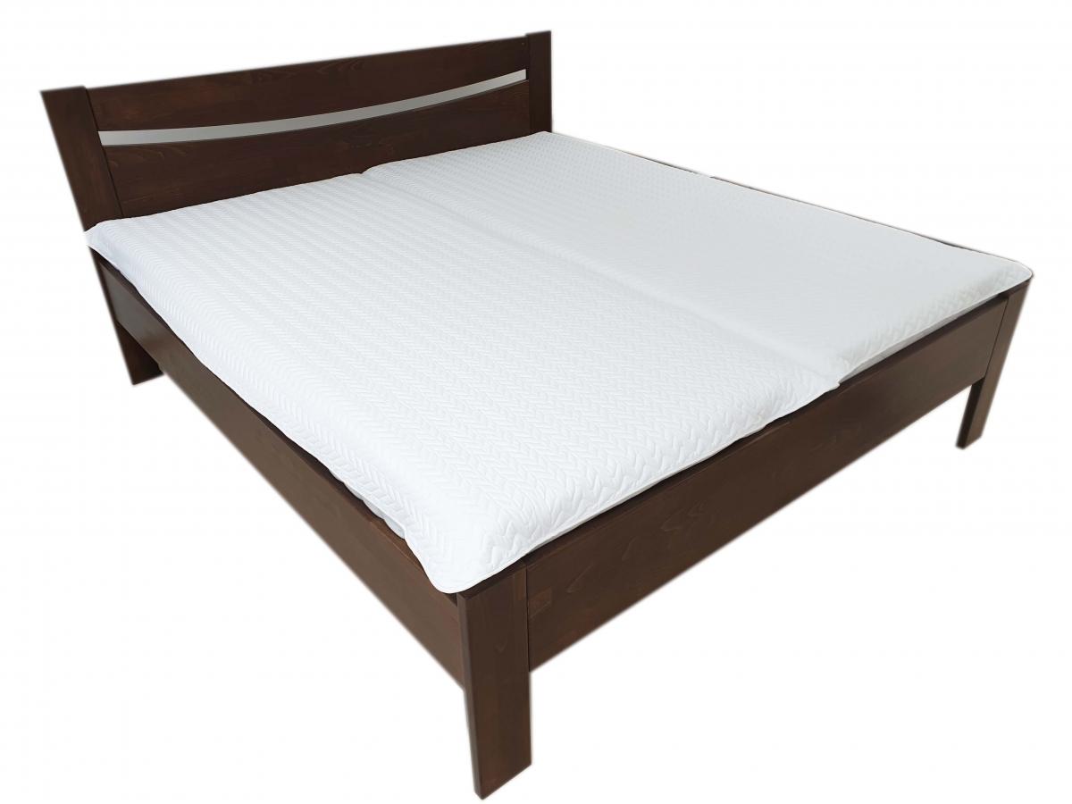 Nepropustný  prošívaný chránič matrace 90x200 cm - VLNKY