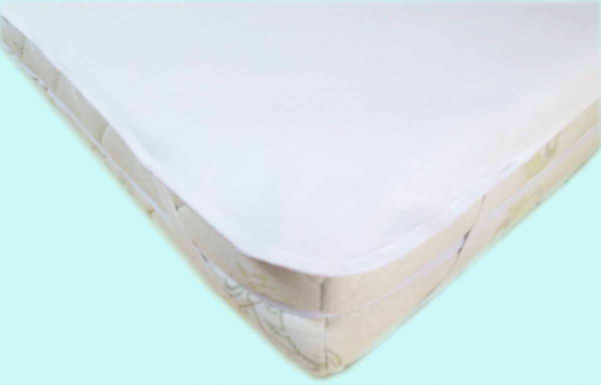 Nepropustný  prošívaný chránič matrace 140x120 cm - JERSEY BÍLÝ