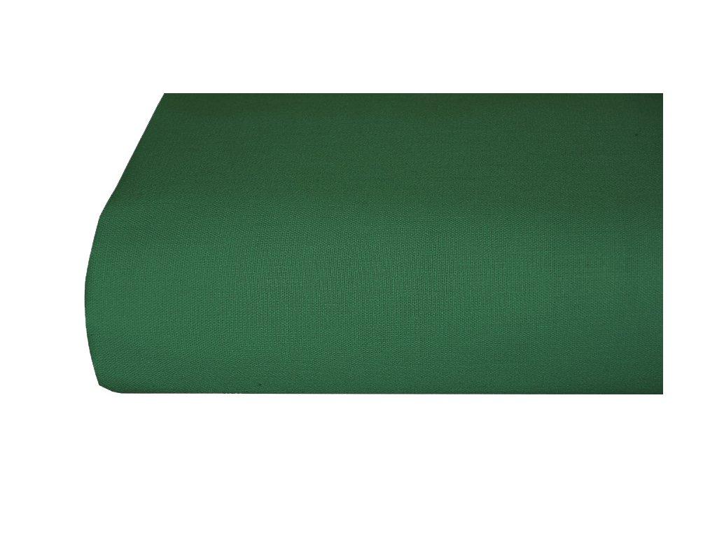 Bavlněná plachta, prostěradlo 140x225 cm zelené