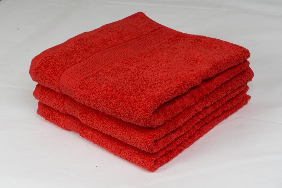 Froté ručník 50x100 cm -  ČERVENÝ