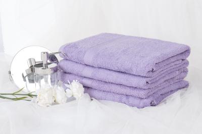 Froté ručník SPRING 50x90 cm - světle levandulový