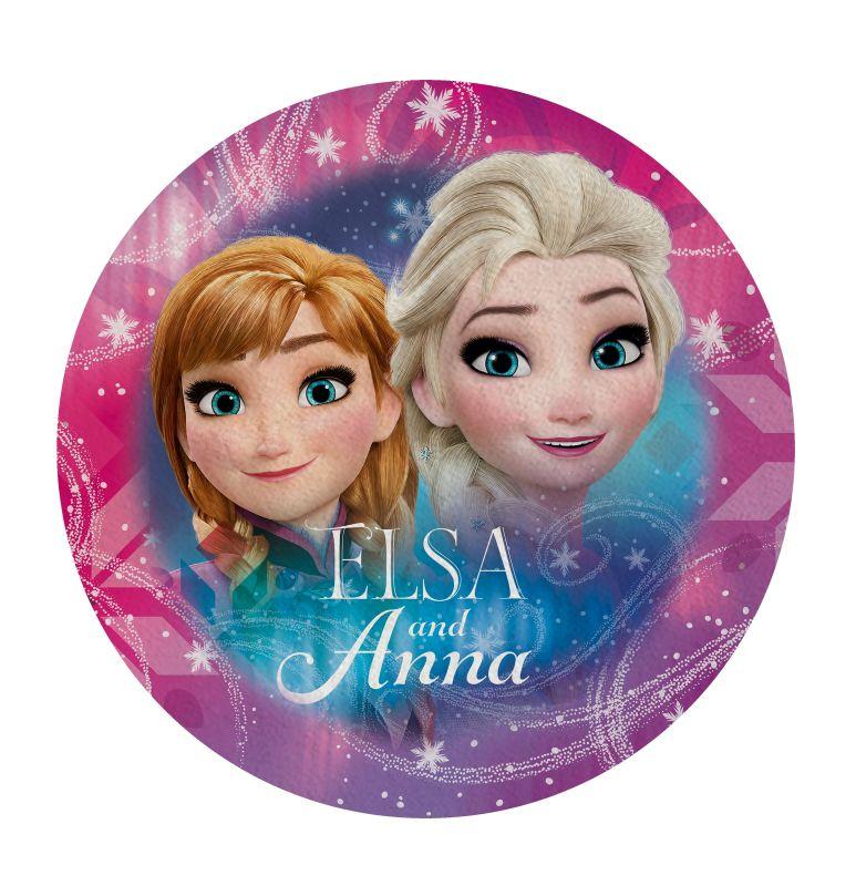 Tvarovaná Micro osuška Ledové Království Anna a Elsa 120cm