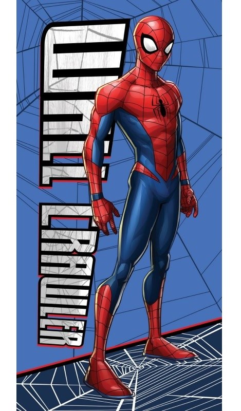Osuška Spiderman blue 70/140cm