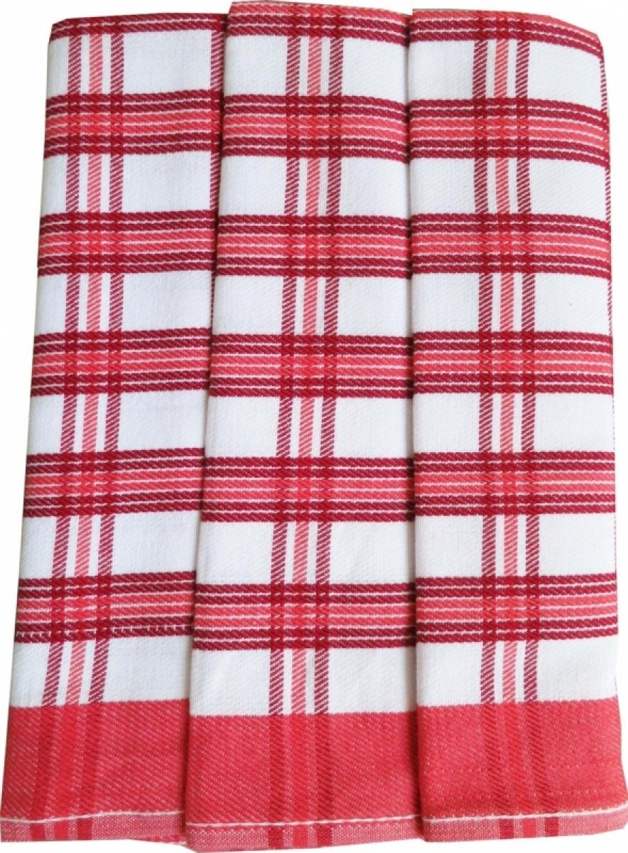 Utěrky kuchyňské z Egyptské bavlny 50x70 cm -  sada 3 ks  č.6