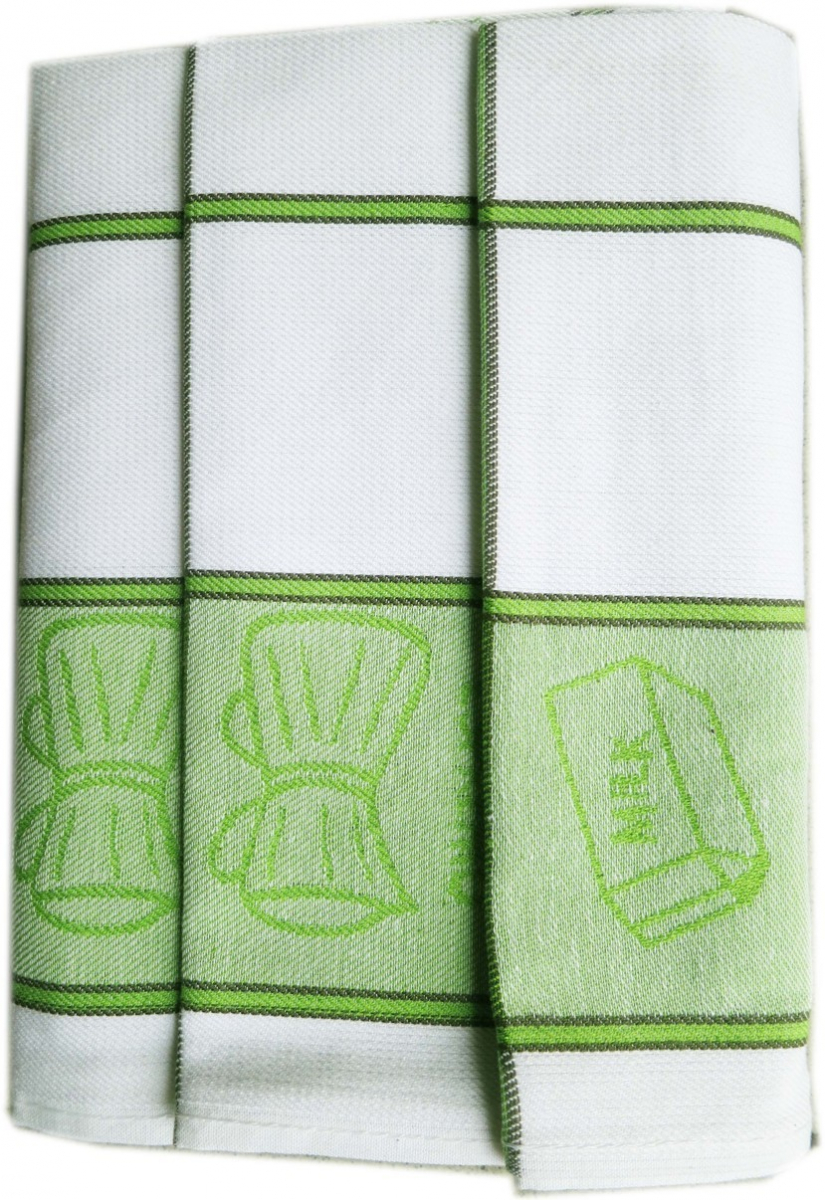 Utěrky kuchyňské z Egyptské bavlny 50x70 cm -  sada 3 ks  č.32
