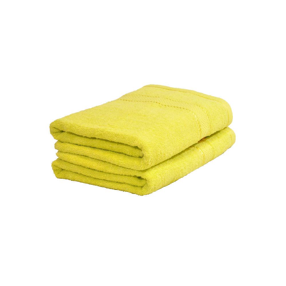 Froté ručník 50x100 cm - ŽLUTO ZELENÝ