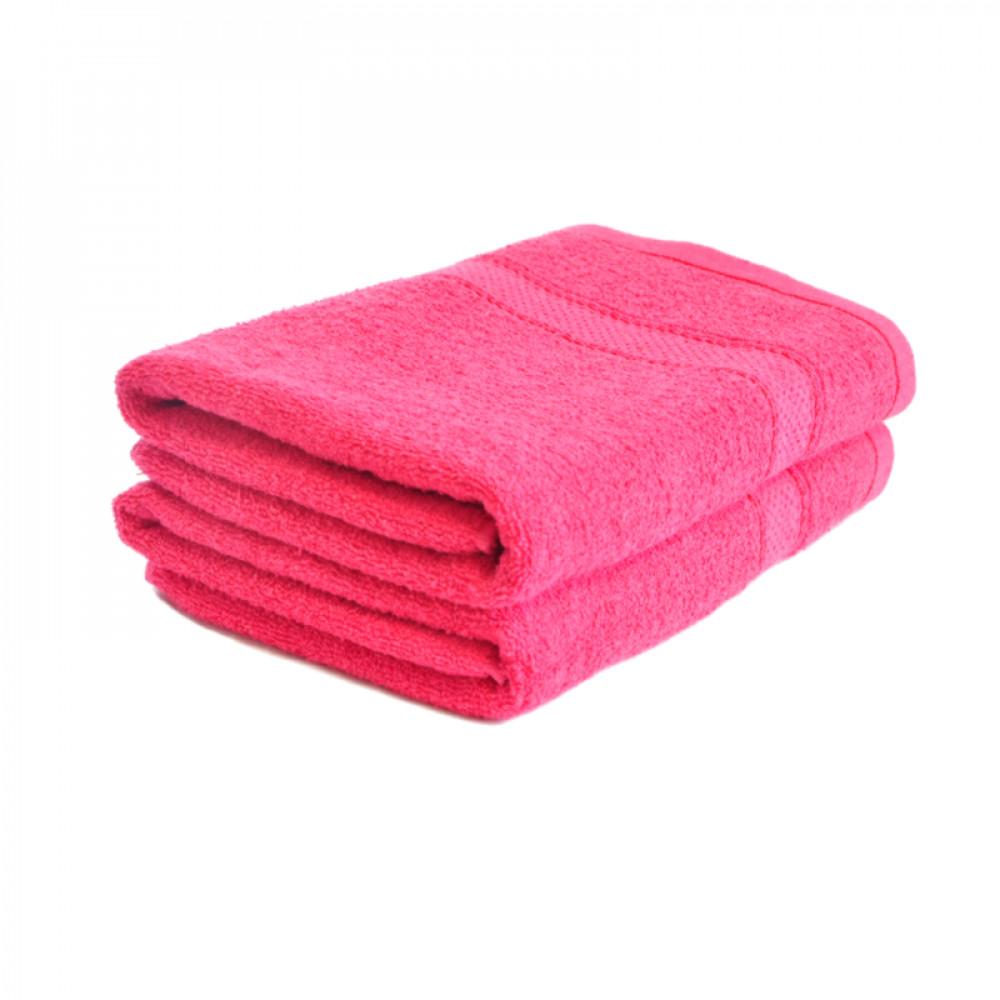 Froté ručník 50x100 cm - RŮŽOVÝ