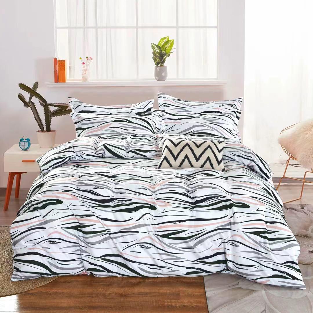 Luxusní Bavlněné povlečení na 2 postele 140x200/ 70x90 -  GEORGIOS  + prostěradlo ZDARMA