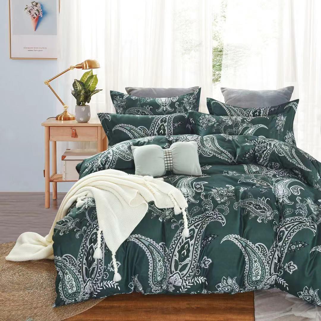 Luxusní Bavlněné povlečení na 2 postele 140x200/ 70x90 - JIŘÍ + prostěradlo ZDARMA