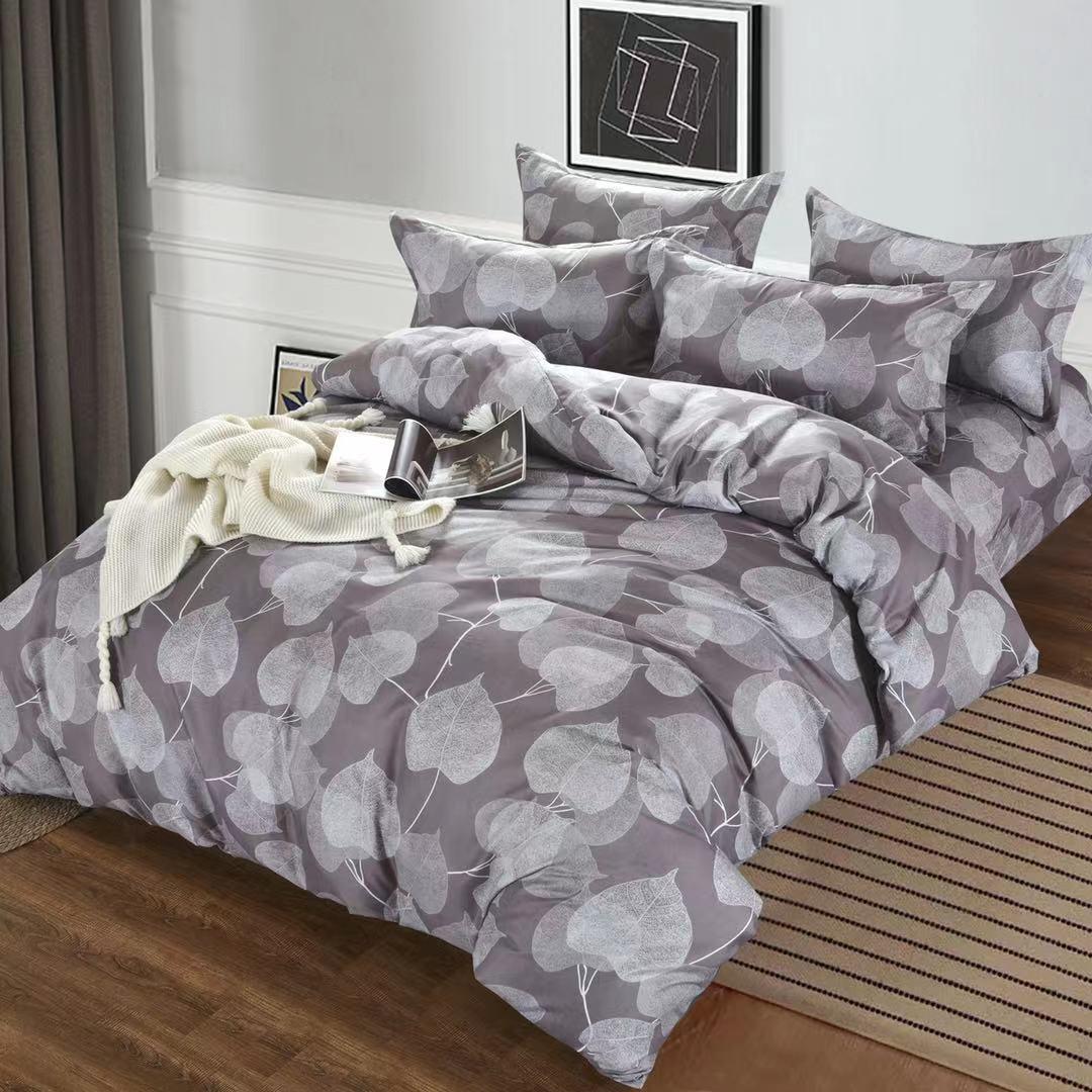 Luxusní Bavlněné povlečení na 2 postele 140x200/ 70x90 - JUAN + prostěradlo ZDARMA