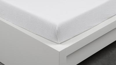 Froté prostěradlo Exclusive dvoulůžko - bílé 200x220 cm