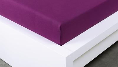 Jersey prostěradlo Exclusive dvojlůžko - švestková 140x200 cm