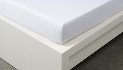 Jersey prostěradlo Exclusive dvojlůžko - bílé 160x200 cm