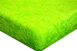 Froté prostěradlo do  postýlky 60x120cm - zelené