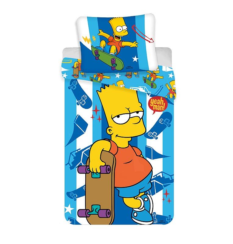 povlečení Simpsnovi Bart Skater