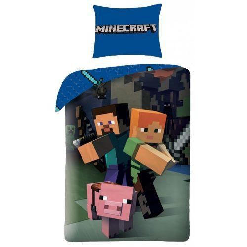 Povlečení Minecraft 140x200 70x90