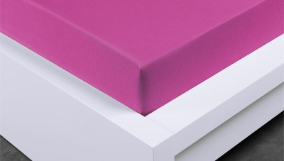 Jersey prostěradlo Exclusive jednolůžko - levandulové 90x200  cm