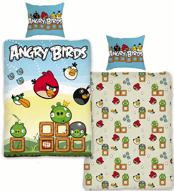 Povlečení Angry Birds Game 140/200 70/80