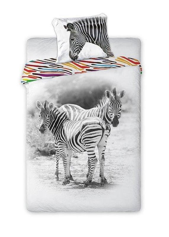 Povlečení Zebra 140/200, 70/90