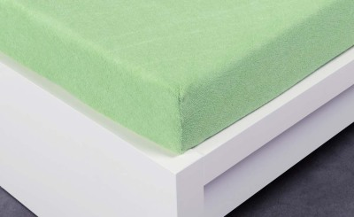 Froté prostěradlo Exclusive dvoulůžko - světle zelená 200x220 cm
