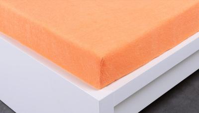 Jersey prostěradlo Exclusive dvojlůžko - meruňková 180x200 cm