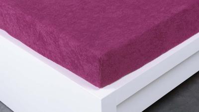 Jersey prostěradlo Exclusive dvojlůžko -  levandulová 180x200 cm