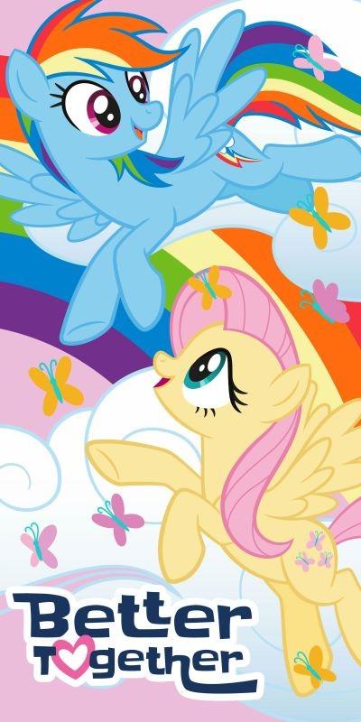 Osuška My Little Pony Better 70/140cm
