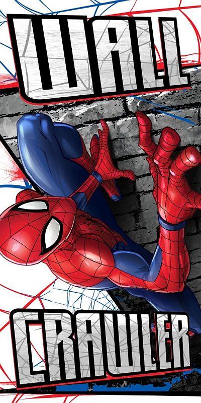 Osuška Spiderman zeď 70/140cm