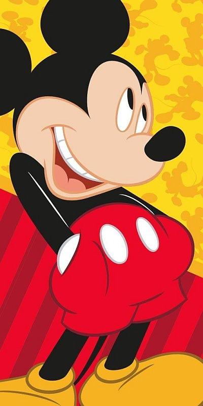 Osuška Mickey 70/140cm