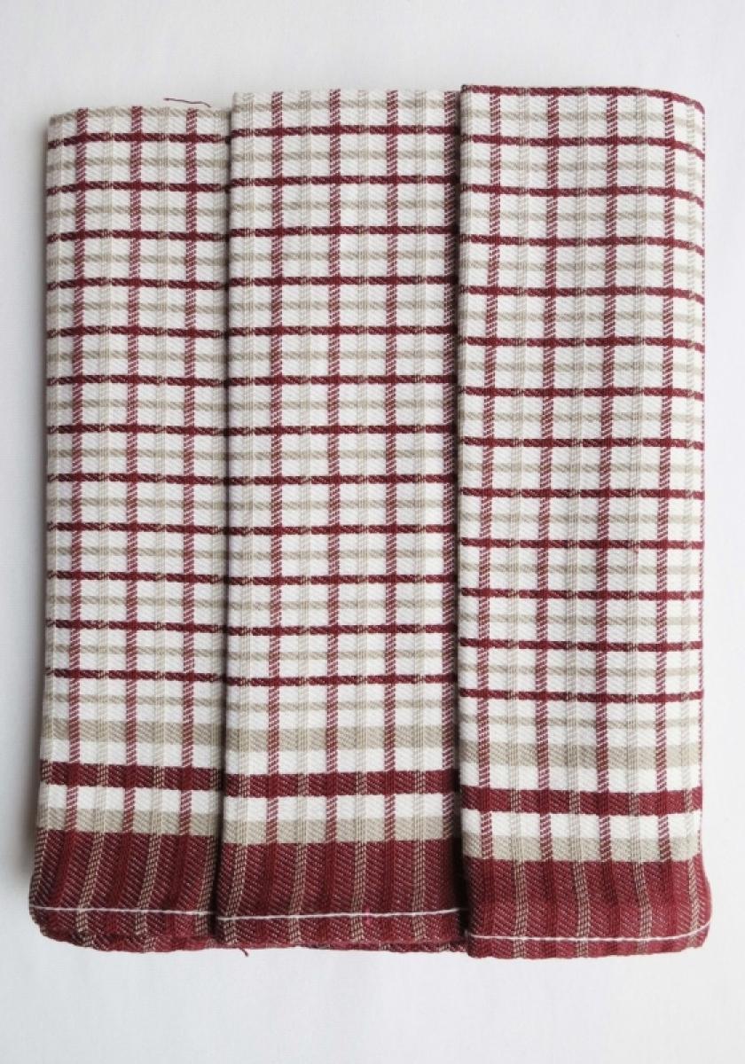 Utěrky kuchyňské z Egyptské bavlny 50x70 cm -  sada 3 ks  č.13