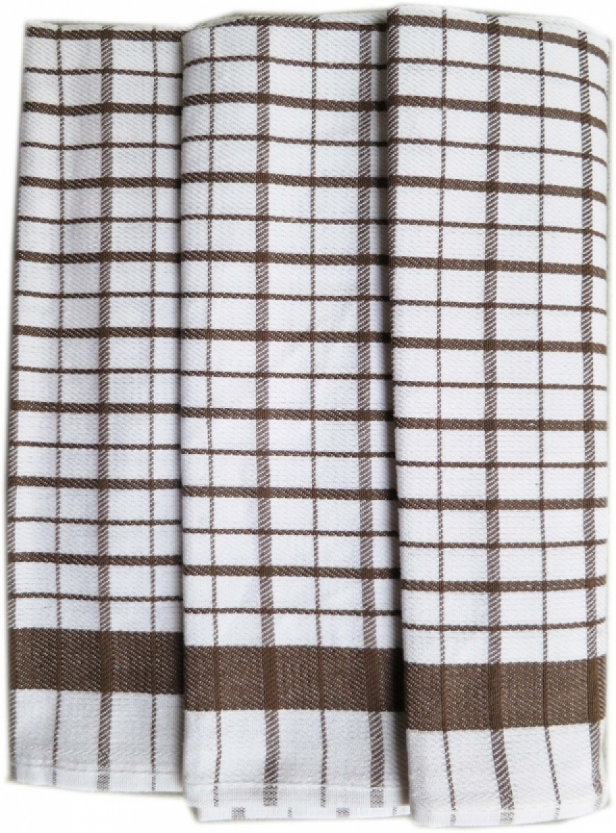 Utěrky kuchyňské z Egyptské bavlny 50x70 cm -  sada 3 ks  č.16