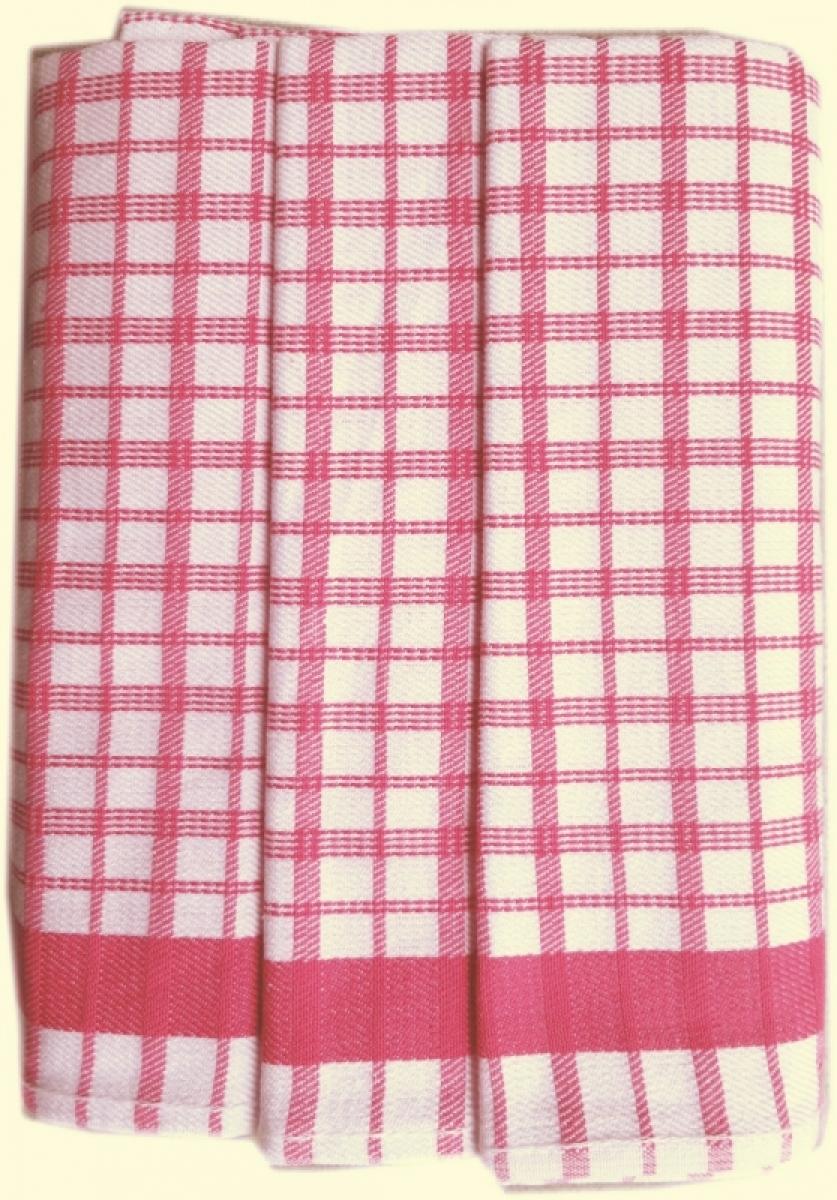 Utěrky kuchyňské z Egyptské bavlny 50x70 cm -  sada 3 ks  č.17