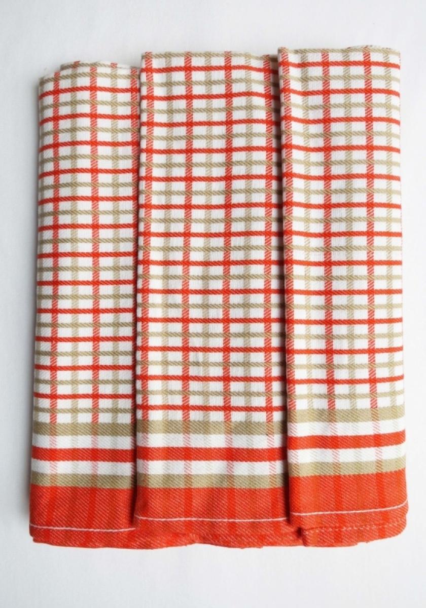 Utěrky kuchyňské z Egyptské bavlny 50x70 cm -  sada 3 ks  č.26