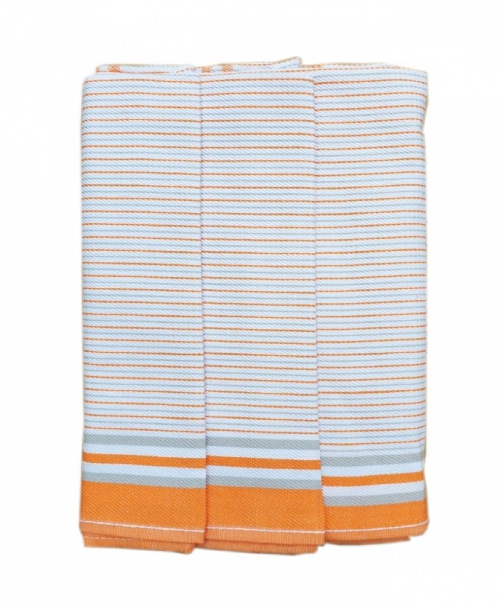 Utěrky kuchyňské z Egyptské bavlny 50x70 cm -  sada 3 ks  č.27