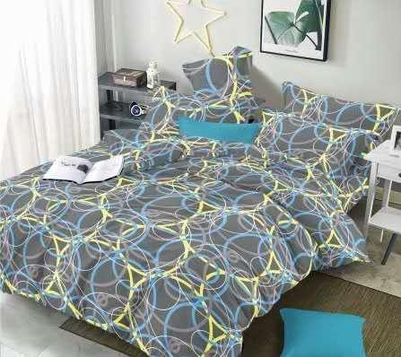 7 dílné  povlečení na 2 postele 140x200/ 70x90 - Vittoria + prostěradlo ZDARMA