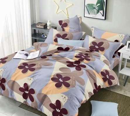 7 dílné  povlečení na 2 postele 140x200/ 70x90 - Nicolett + prostěradlo ZDARMA