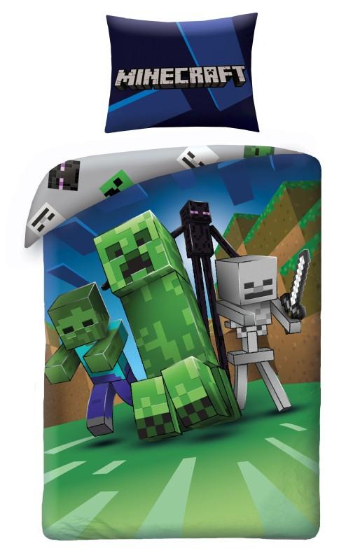 Povlečení Minecraft Monsters 140/200, 70/90 cm