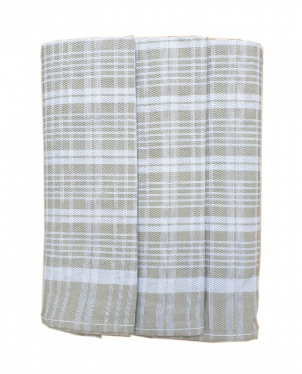 Utěrky kuchyňské z Egyptské bavlny 50x70 cm -  sada 3 ks  č.78