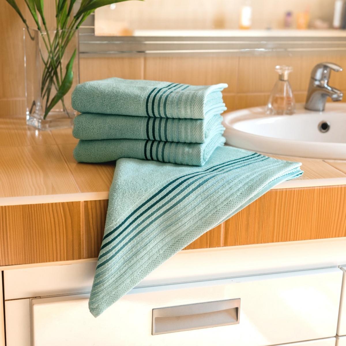 Luxusní Froté ručník  Katka 50x100 cm - mint