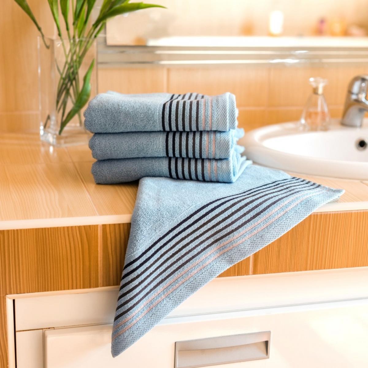 Luxusní Froté ručník Katka 50x100 cm - turquise