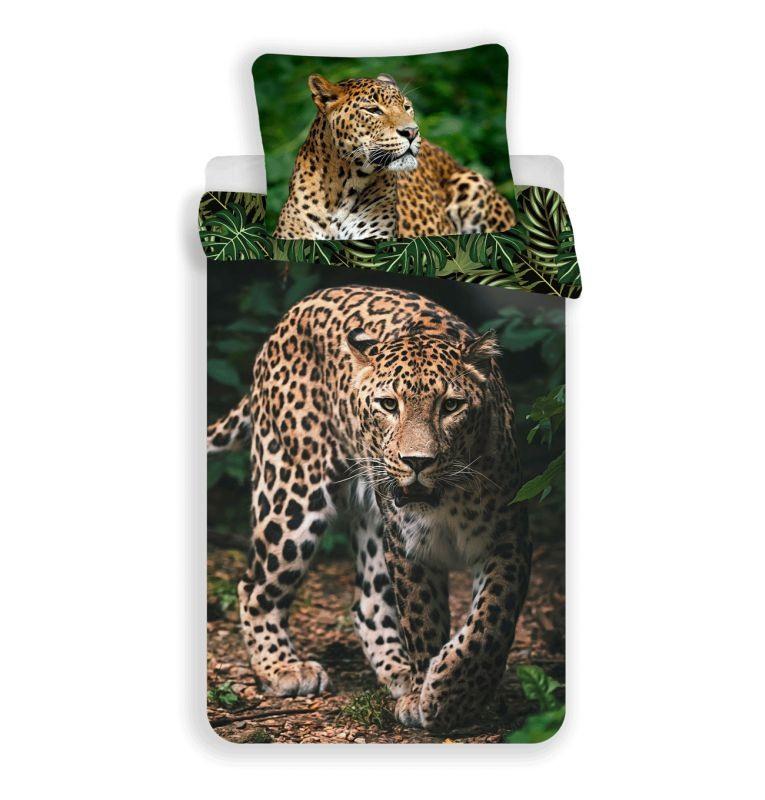 Povlečení Leopard Green 140/200, 70/90