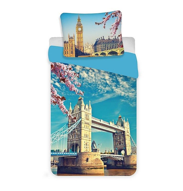Povlečení Londýn Tower bridge 140/200, 70/90