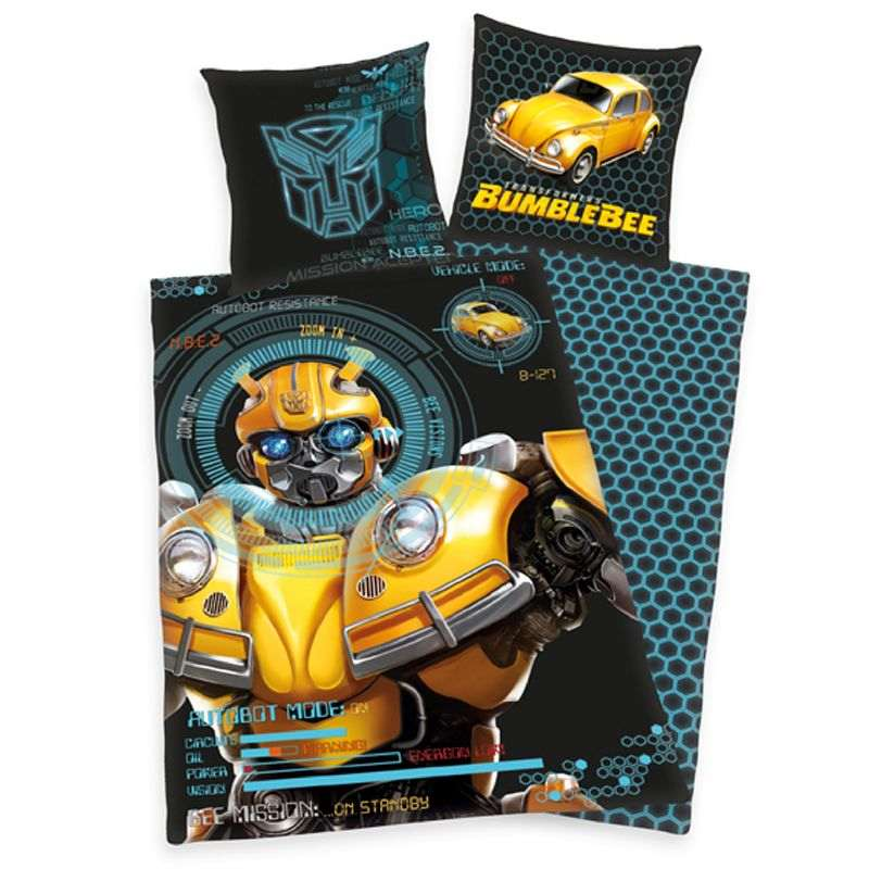 Povlečení Transformers Bumblebee 140/200, 70/90