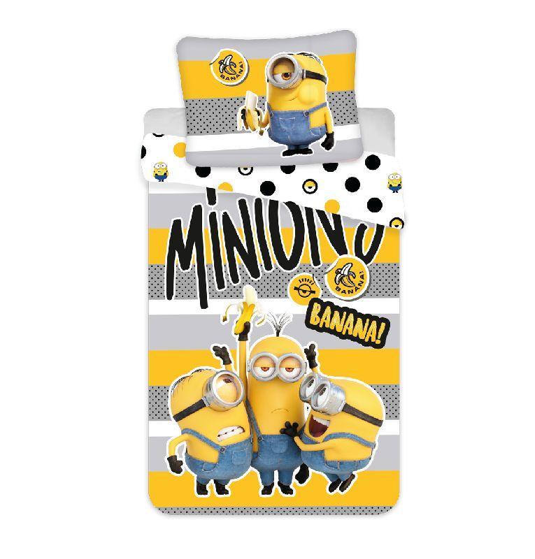 Povlečení Mimoni 2 Banana 140/200, 70/90