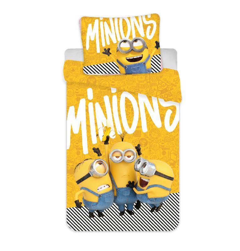 Povlečení Mimoni 2 Yellow 140/200, 70/90