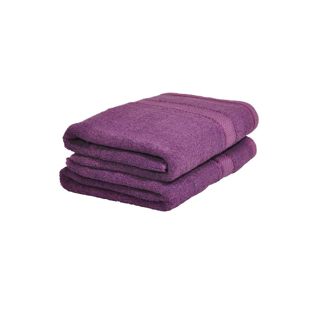 Froté ručník 50x100 cm - FIALOVÝ