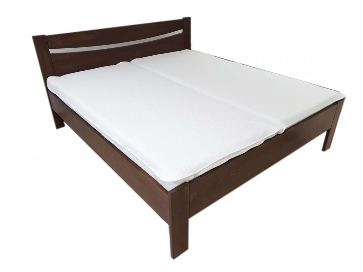Nepropustný  prošívaný chránič matrace 90x200 cm - KOSTIČKY