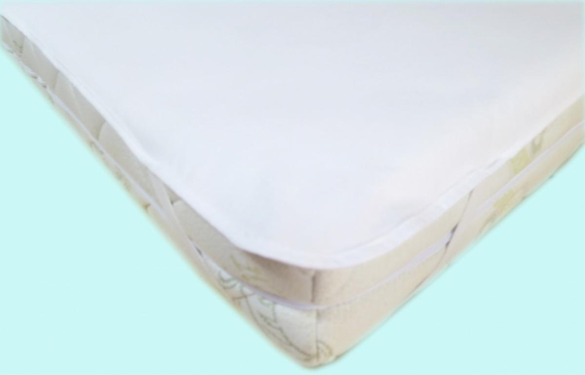 Nepropustný  prošívaný chránič matrace 60x120 cm - JERSEY BÍLÝ