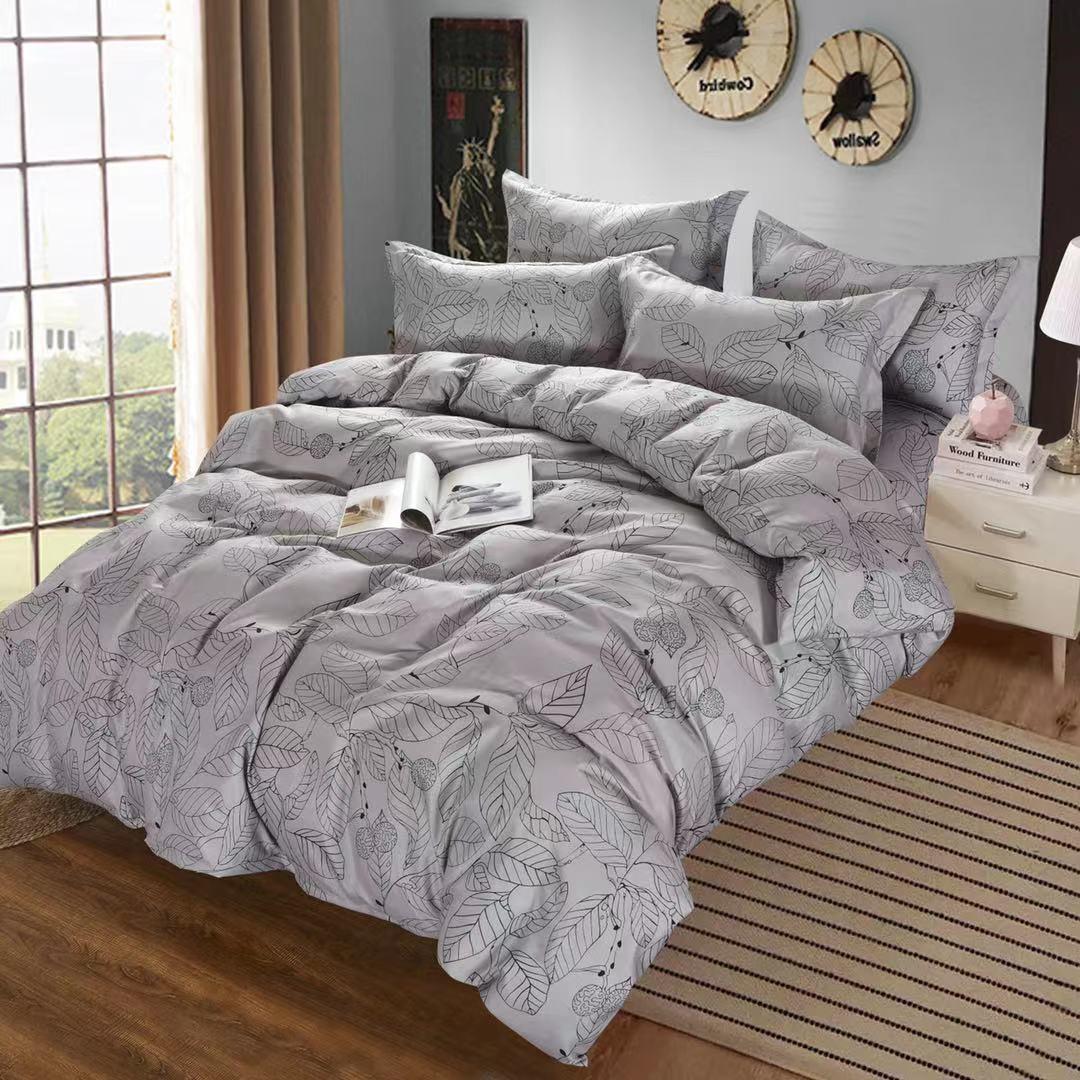 Luxusní Bavlněné povlečení na 2 postele 140x200/ 70x90 -  JURIJ  + prostěradlo ZDARMA