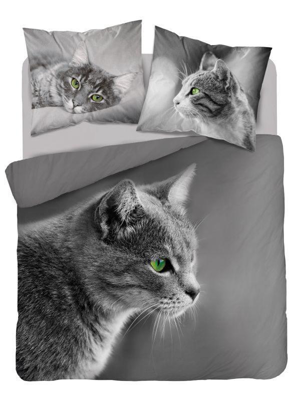 Luxusní 3D povlečení Kočka Britská - Francouzské  220x200 cm